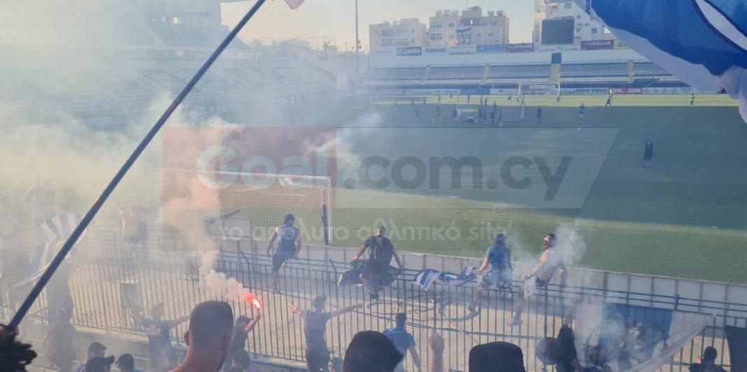 Βίντεο: Ντου από τους «Μαχητές» στο «Αντώνης Παπαδόπουλος»
