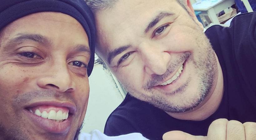 Στη Γλυφάδα με τον Ρέμο ο Ροναλντίνιο!