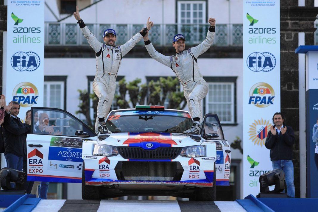 Rally Azores - 1ος γύρος: Νίκη του Magalhães στην πρεμιέρα του ΕRC