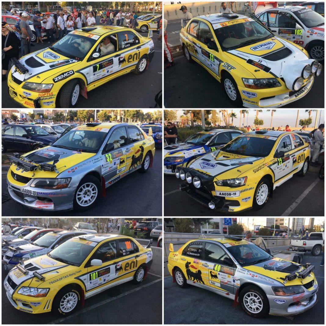 Mε 6 πληρώματα στο Tour of Cyprus Rally