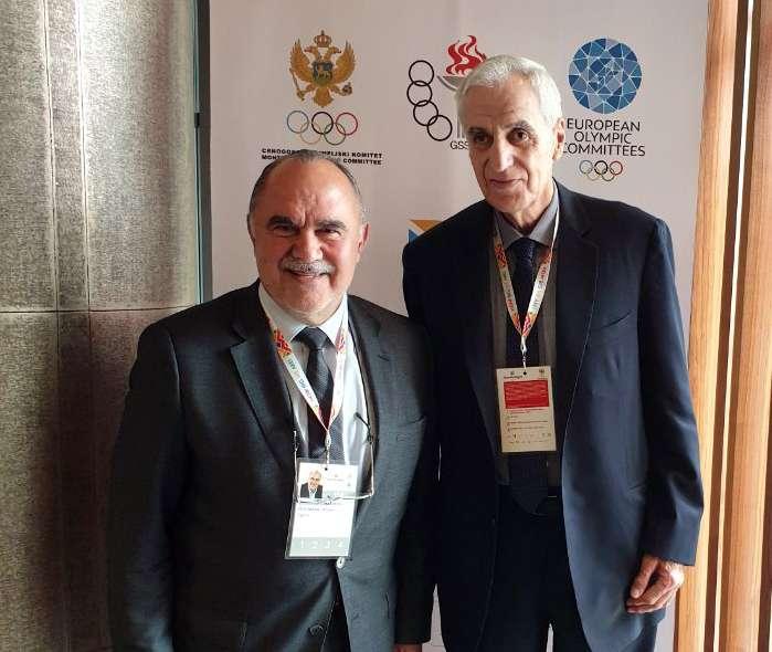Συνάντηση των υπουργών αθλητισμού των εννιά μικρών κρατών
