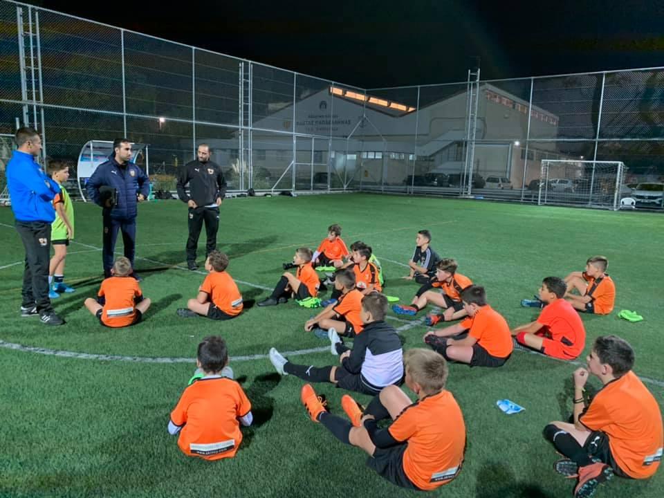 Εκπαιδεύει ανθρώπους και δημιουργεί ποδοσφαιριστές η GPS Valencia