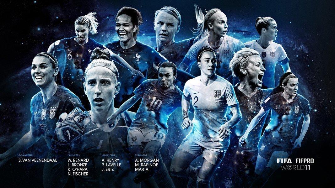 Η καλύτερη ενδεκάδα γυναικών στον κόσμο!