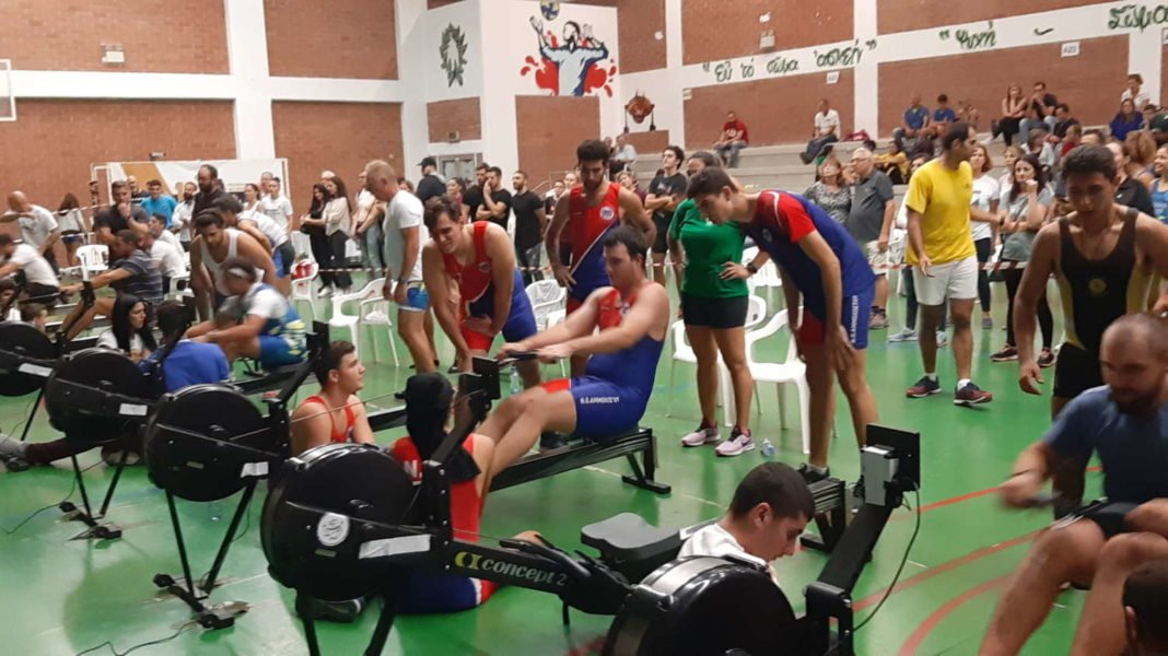 17οι Αγώνες Παγκυπρίου Πρωταθλήματος Κλειστής Κωπηλασίας