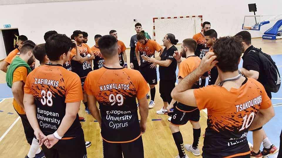 Χάντμπολ: Μείωσε σε 3-1 το Ευρωπαϊκό Πανεπιστήμιο