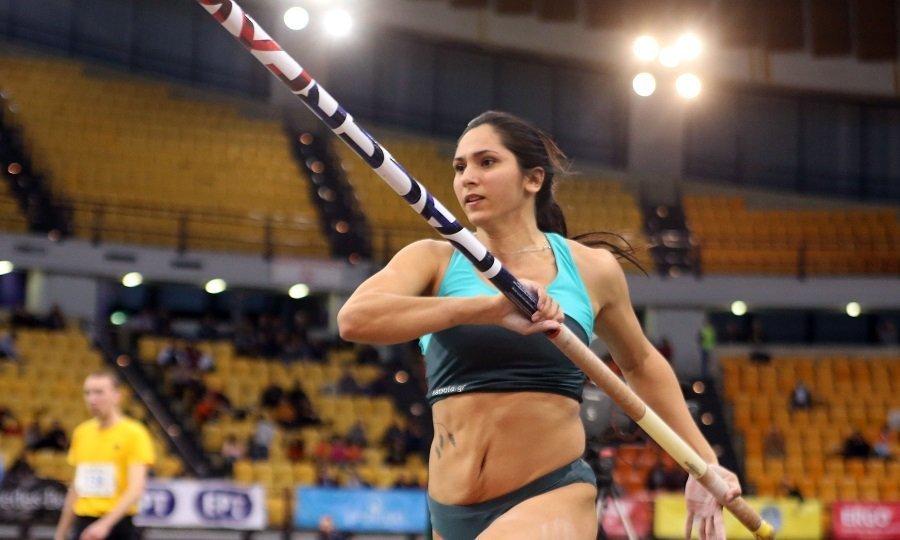 Άγγιξε το Ολυμπιακό όριο η Πόλακ στο επί κοντώ