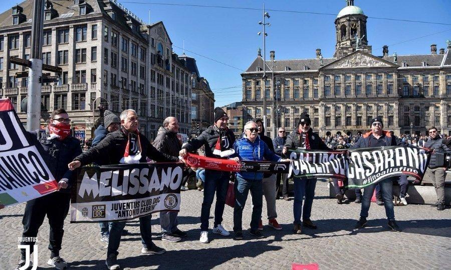 Χάος έξω από το Άμστερνταμ Αρίνα
