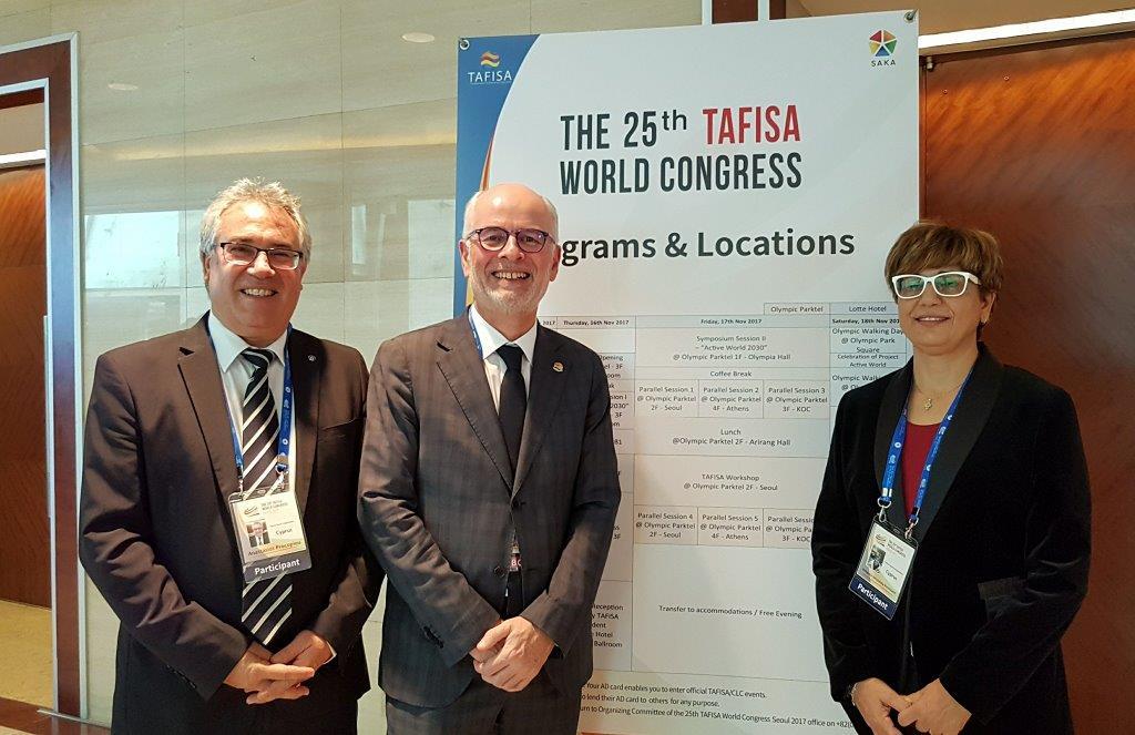 Ο ΚΟΑ στο 25ο Παγκόσμιο Συνέδριο TAFISA στην Κορέα