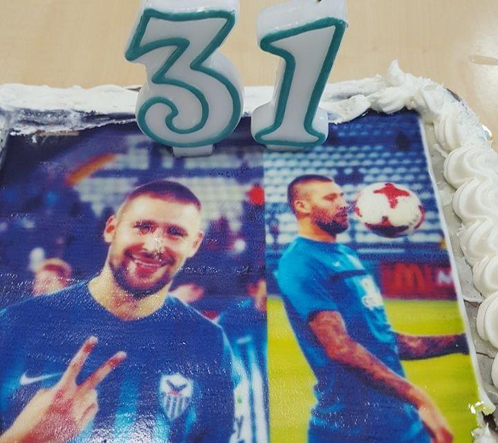 Γενέθλια τούρτα στον Μπανταλόφσκι (vid)