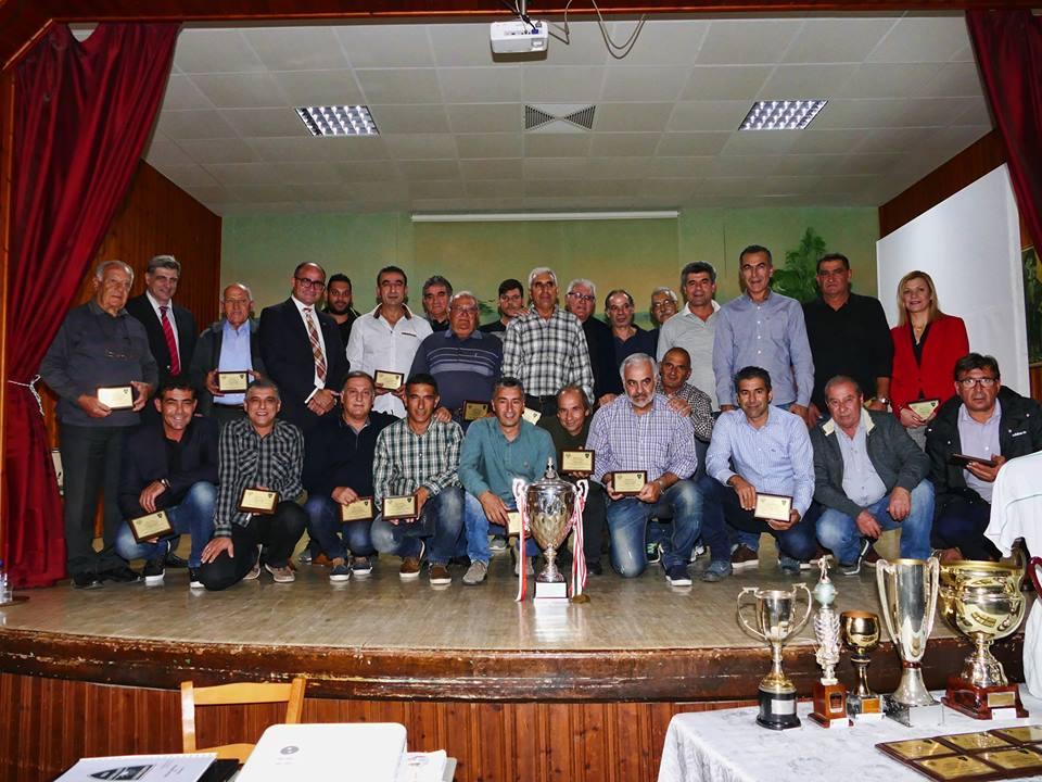 Eκδήλωση οφειλόμενης τιμής στην ποδοσφαιρική Αναγέννηση (pics)