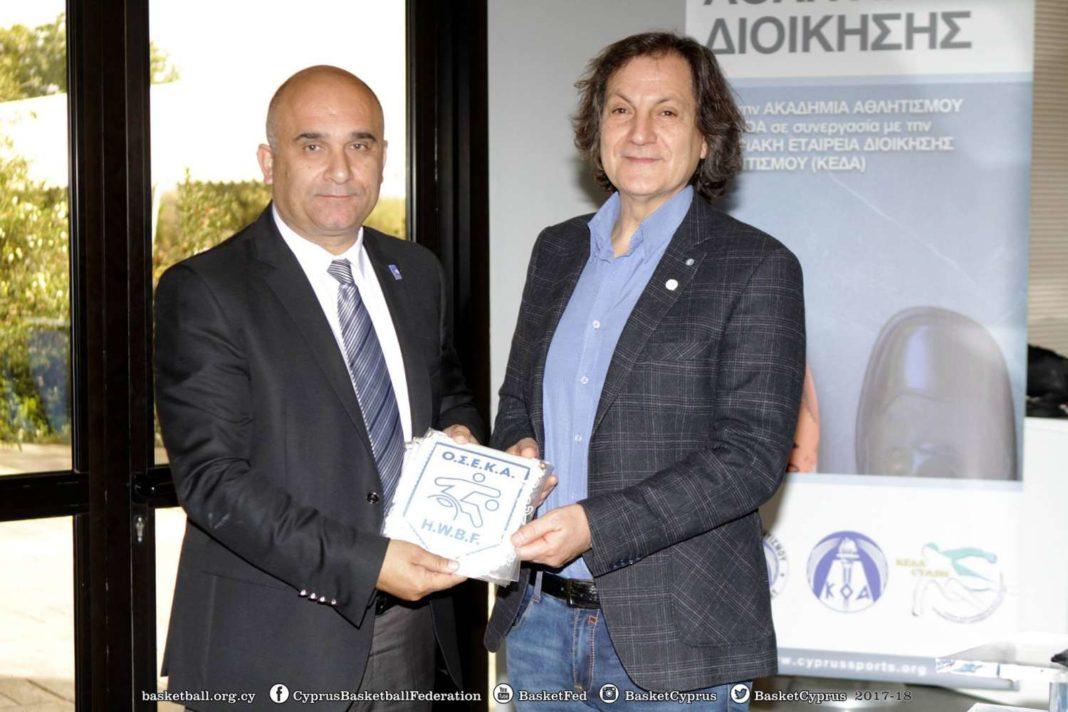 Υπογραφή μνημονίου συνεργασίας ΚΟΚ-ΟΣΕΚΑ