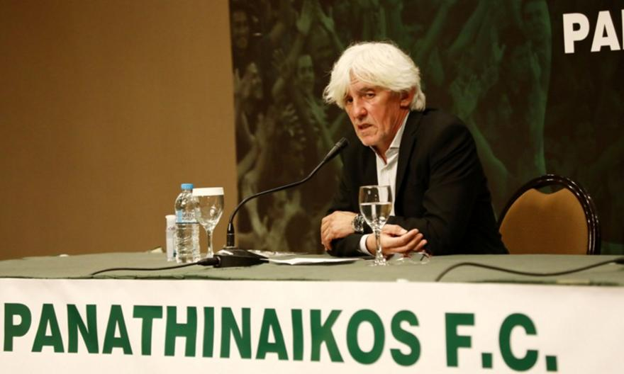 Γιοβάνοβιτς: «Η ιστορία του Παναθηναϊκού ορίζει τους στόχους. Δικές μου οι ευθύνες»