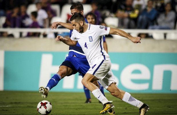 Γι' αυτή την κάρτα τιμωρήθηκε o Mανωλάς στον αγώνα με την Κύπρο
