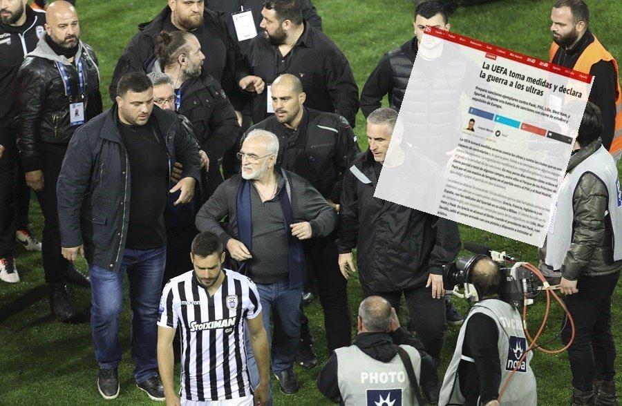 «Απειλή τιμωρίας στον ΠΑΟΚ από την UEFA»