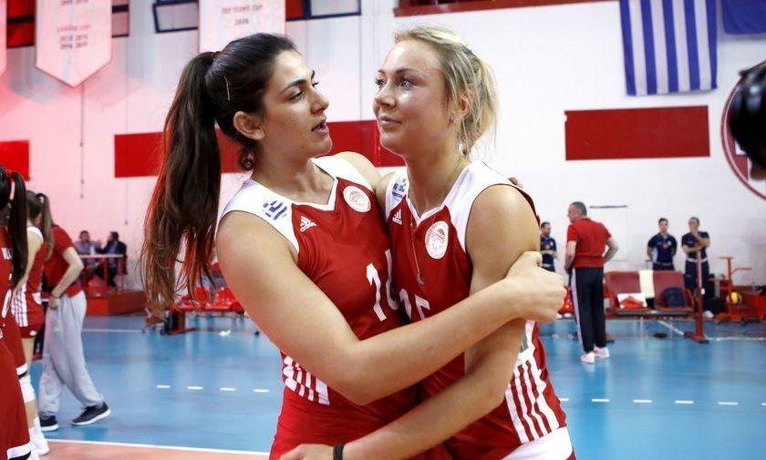 Ανανέωσε με Ολυμπιακό Πειραιώς η Κατερίνα Ζακχαίου