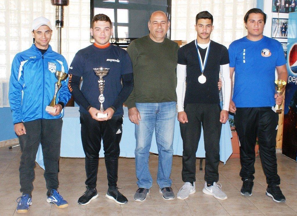 Γιώργος Αχιλλέως και Παναγιώτα Ανδρέου κέρδισαν το «Κύπελλο Παραλιμνίου»!