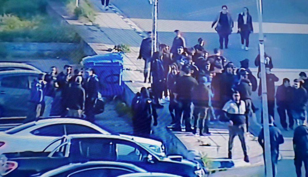 Διαμαρτυρία έξω από το «Παπαδόπουλος» για το θέμα Ουζόχο