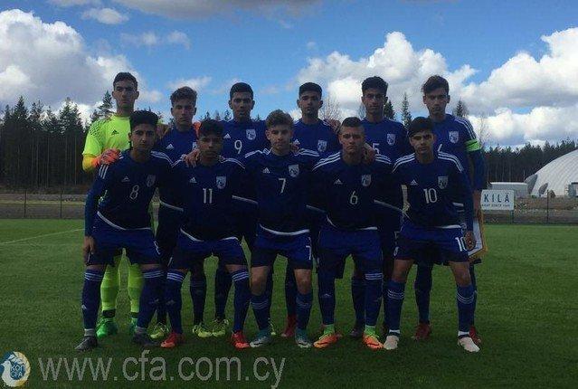 Nίκη της Εθνικής Παίδων U17 επί της Ουγγαρίας