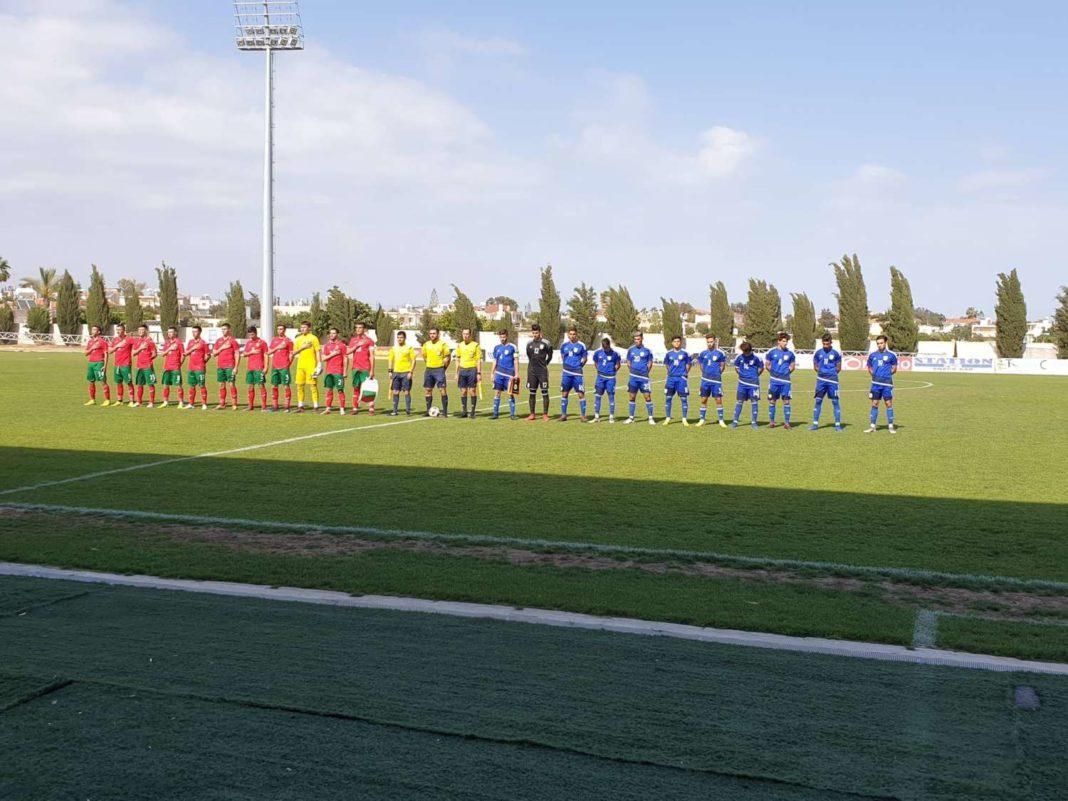 Φιλική ήττα της Εθνικής Νέων από τη Βουλγαρία