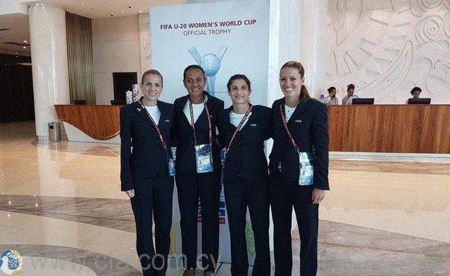 Στον τελικό του Παγκοσμίου Κυπέλλου Γυναικών U-20 η Αγγέλα Κυριάκου