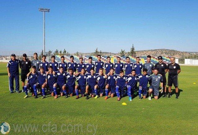 Ξεκίνησε νέο κύκλο προπονήσεων η Εθνική Παίδων U-14