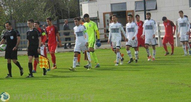 Προετοιμασία Εθνικής Νέων ενόψει του φιλικού αγώνα με τη Γερμανία