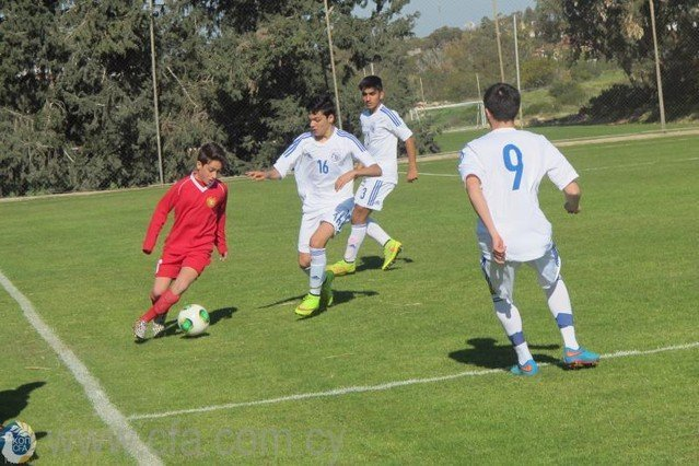 Προπονήσεις Εθνικής U-14