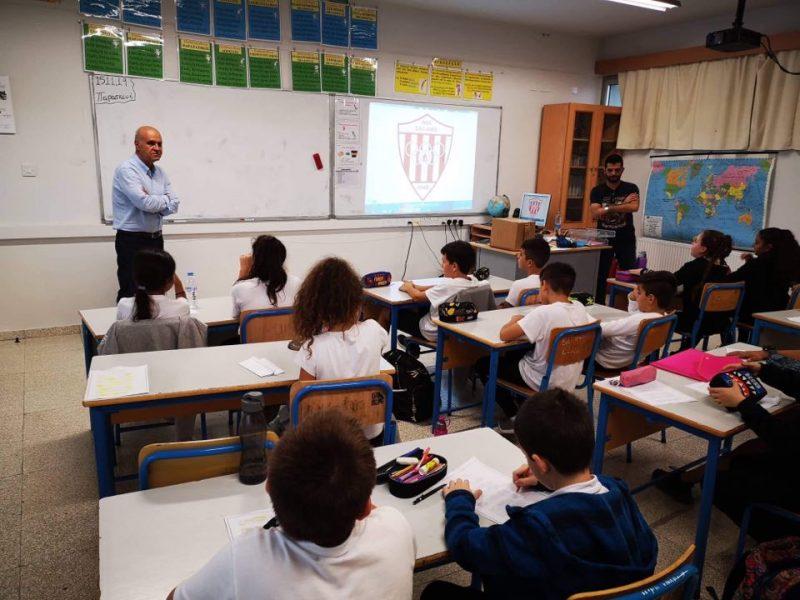 Ο Θουκυδίδης επισκέφθηκε το Δημοτικό σχολείο Πύλας