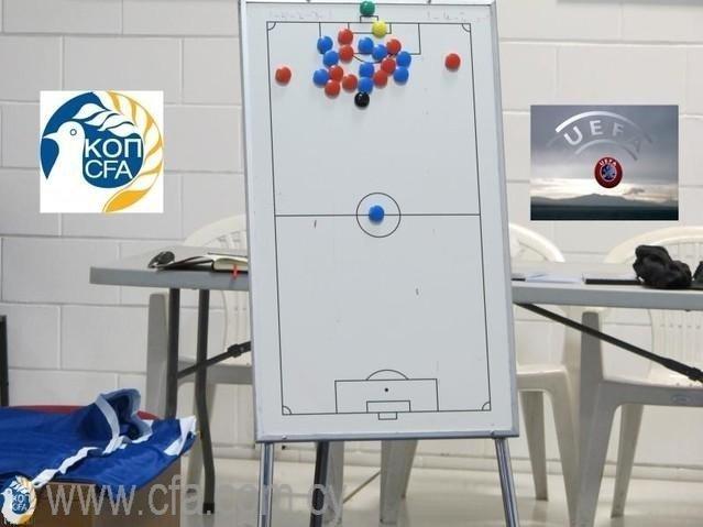 Μαθήματα για δίπλωμα προπονητή UEFA C