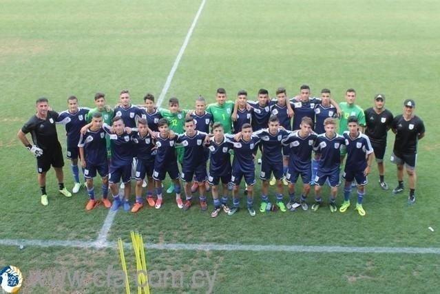 Κλήση για προπονήσεις της Εθνικής Παίδων U-15
