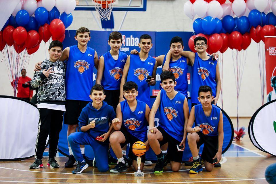Εντυπωσιακοί οι τελικοί του δεύτερου junior NBA Cyprus