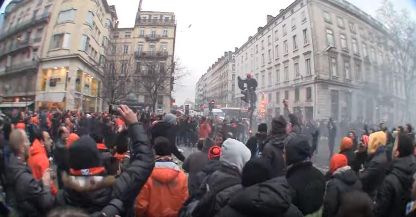 Παν.Συ.Φι ΑΠΟΕΛ: «14/2/2012: Πορτοκαλί παράνοια μέσα στη Λιόν...»
