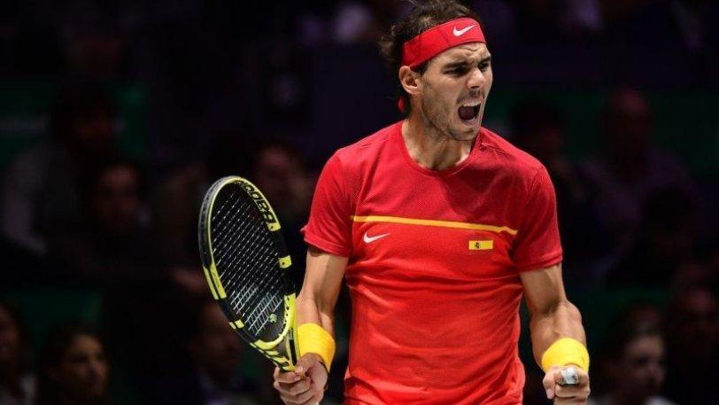 Davis Cup: Η 5η κούπα του «Βασιλιά» Ναδάλ!