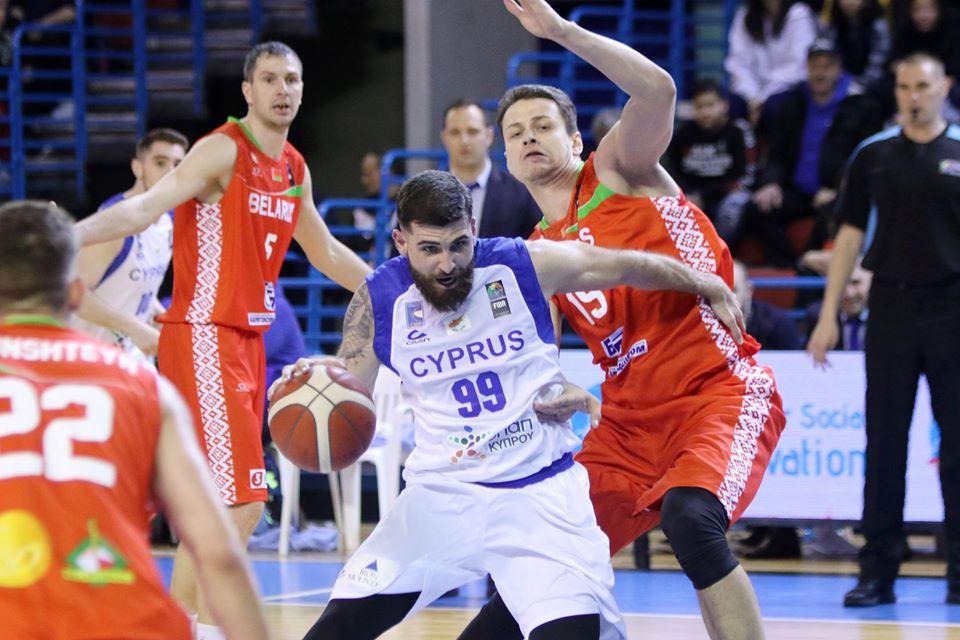 Ήττα για την Εθνική Ανδρών καλαθόσφαιρας από την Λευκορωσία