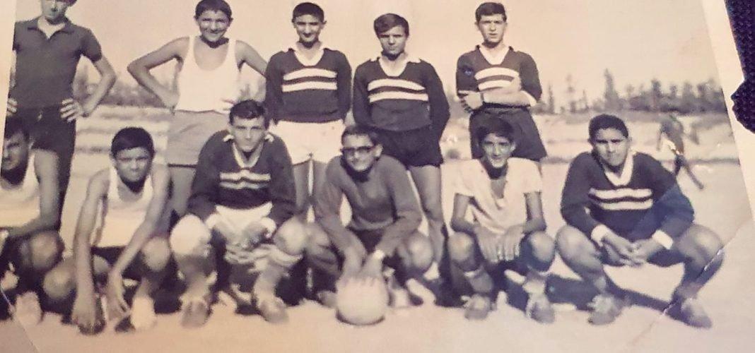 Ο Μιχαηλίδης μαθητής και αρχηγός της ομάδας