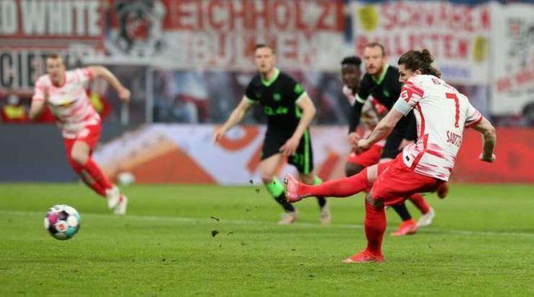 Λειψία – Βόλφσμπουργκ 2-2: Ισοπαλία με... δύο νικήτριες