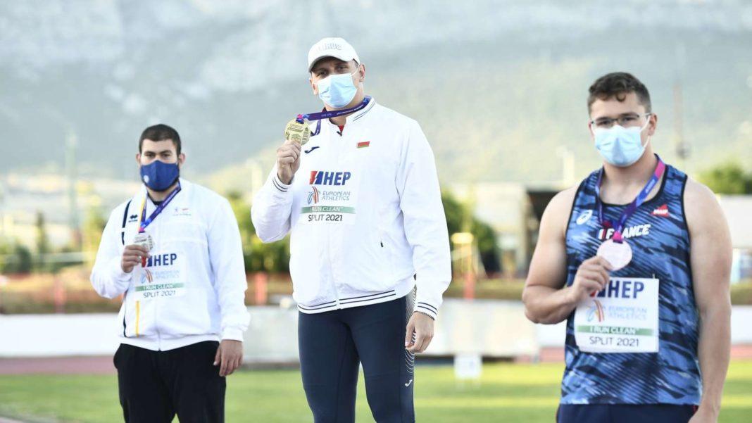 Νέο παγκύπριο ρεκόρ κάτω των 23 ετών ο Γιώργος Κονιαράκης