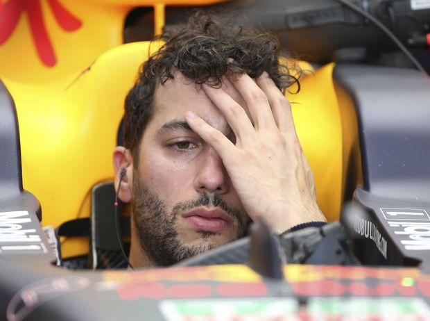 Το ατύχημα του Ricciardo (video)