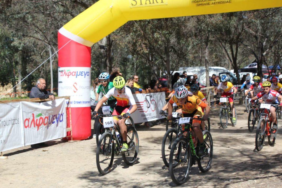 Αγώνας ορεινής ποδηλασίας «Άρωνας MTB XC 2017-Άλφα Μέγα»