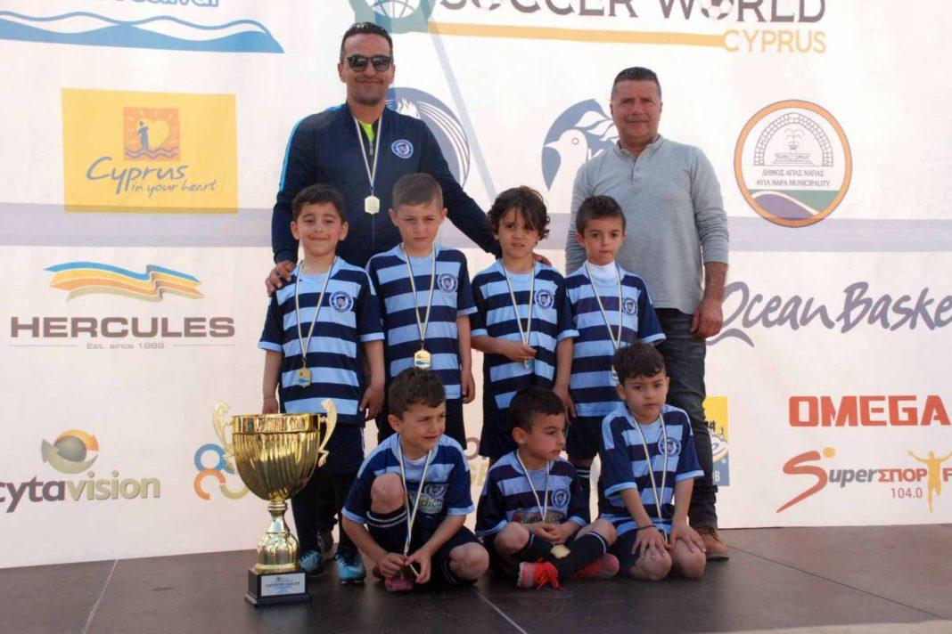 Οι πρωταθλητές στο Ayia Napa Soccer Festival