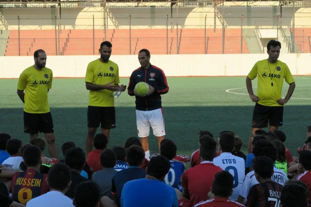 Επέστρεψαν στη Βηρυτό οι προπονητές της Arsenal Κύπρου