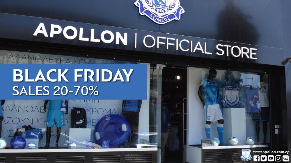 Black Friday στο Apollon Official Store