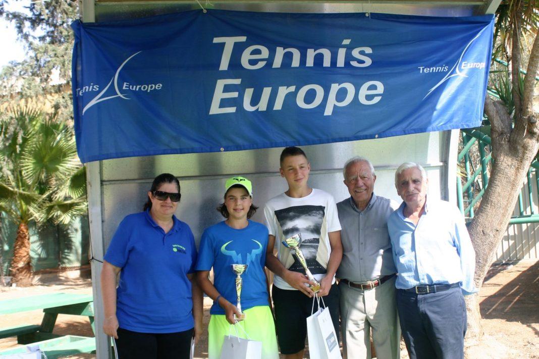 Η «Ευρωπαϊκή» συνέχεια στο ELEON TENNIS CLUB U16 (pics)
