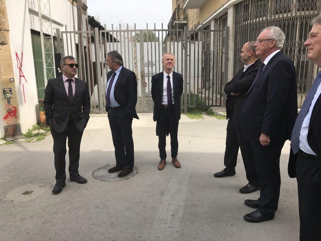 Επίσκεψη στην Πράσινη Γραμμή και επεξήγηση του Κυπριακού