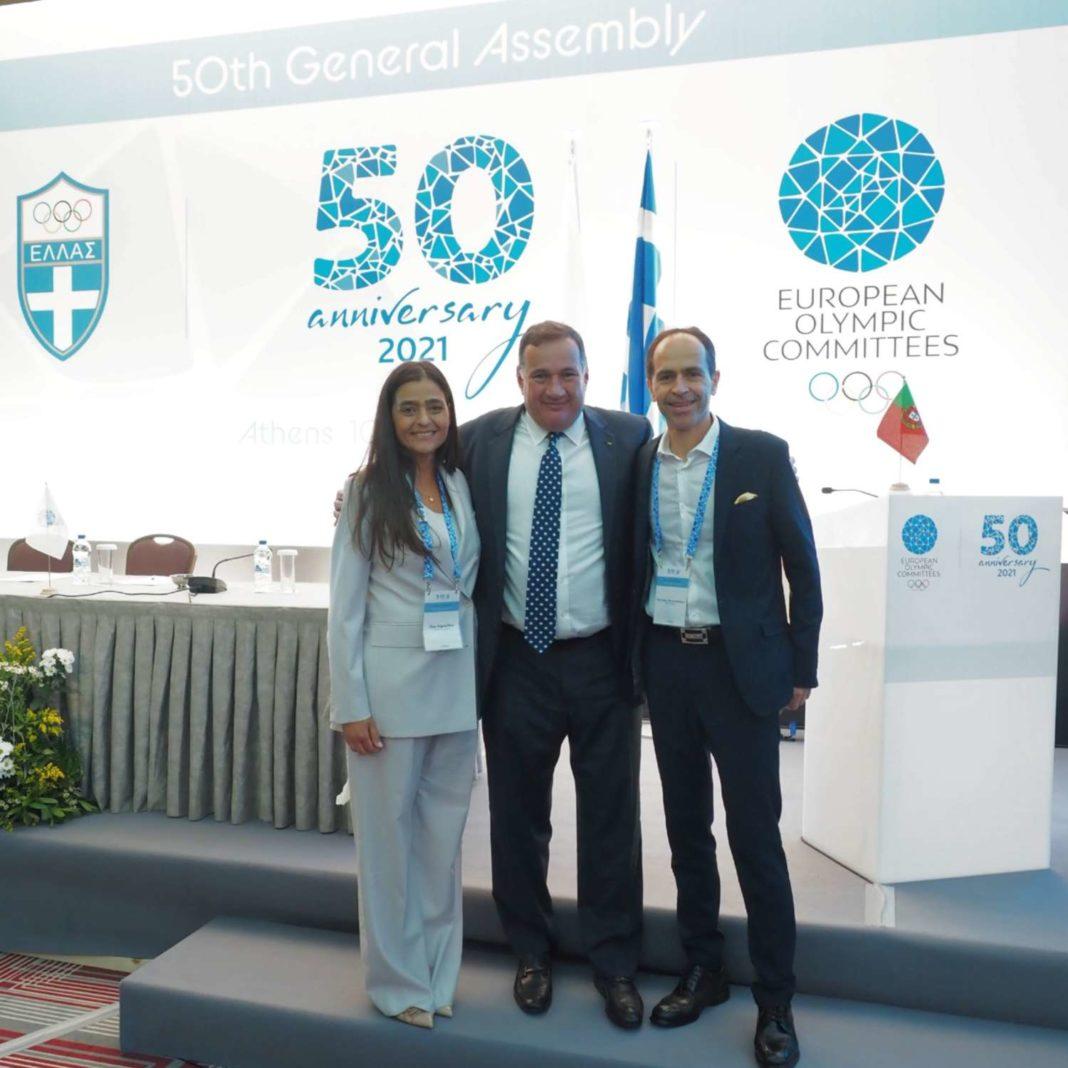 O Σπύρος Καπράλος νέος Πρόεδρος των Ευρωπαϊκών Ολυμπιακών Επιτροπών