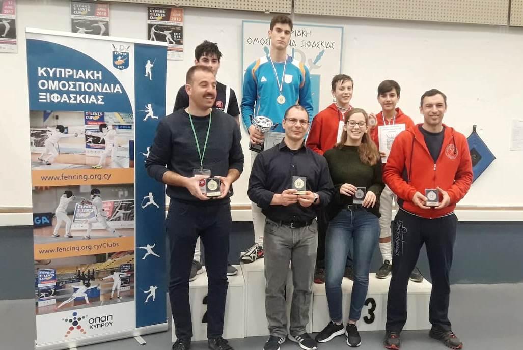 Πρωταθλητής εφήβων στην Ξιφασκία ο Αλέξανδρος Ταλιώτης