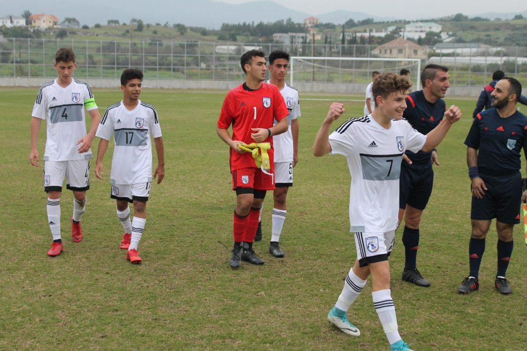 Διεθνής φιλική νίκη της Εθνικής Παίδων U15 επί της Ρουμανίας