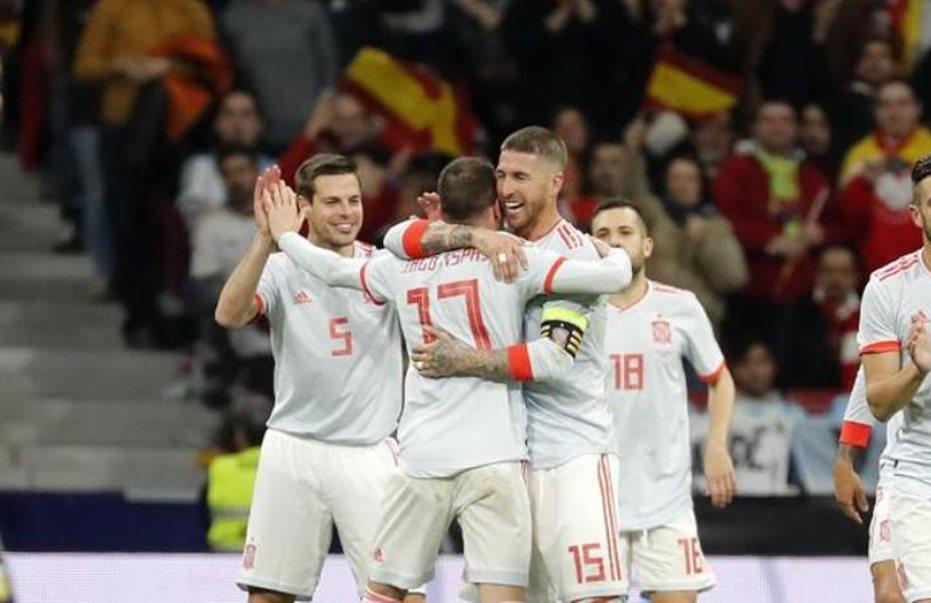 Η Ισπανία διέσυρε την Αργεντινή