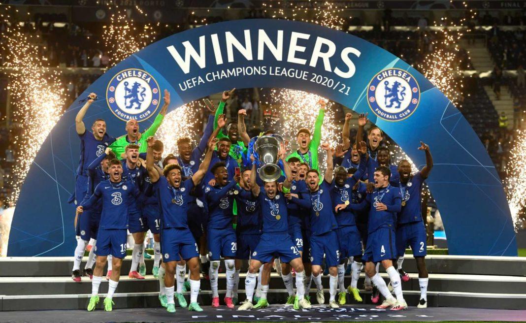 Σήκωσαν το Champions League οι μάγκες με τα μπλε! (vid)