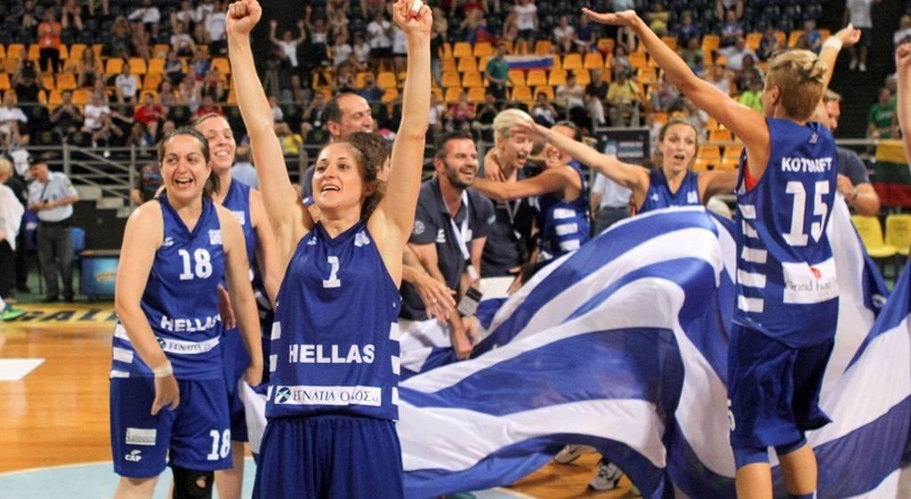 Πρωταθλήτρια Ευρώπης η Εθνική κωφών γυναικών!